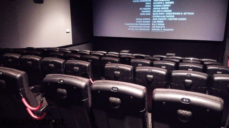 Sala de Cinema 4DX do GaiaShopping