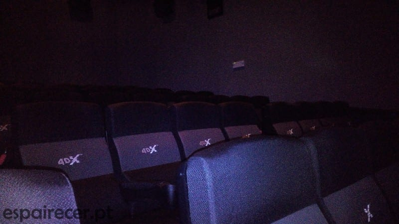 Sala de Cinema 4DX do GaiaShopping