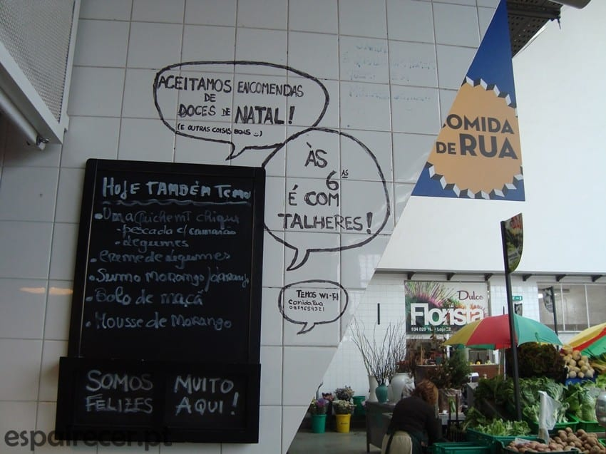 Comida de Rua no Mercado de Matosinhos